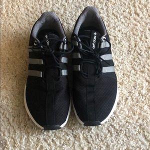Adidas SL Loop Black/Silver Kid's Size 6